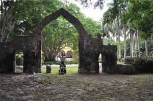Antigua entrada