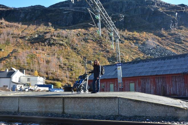 Esperando en la estación de Myrdal