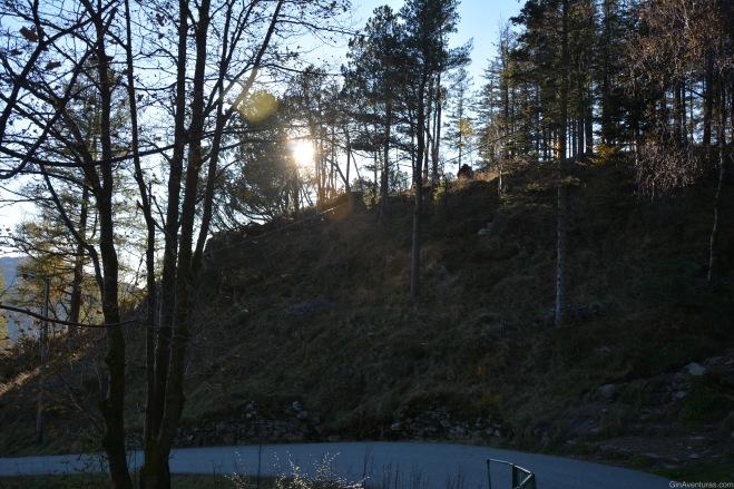 El sol se empieza a ocultar
