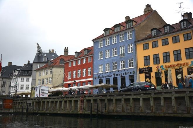 Coloridos edificios en Nyhavn
