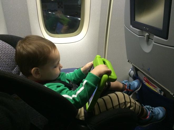 Espacio entre piernas en clase turista de KLM