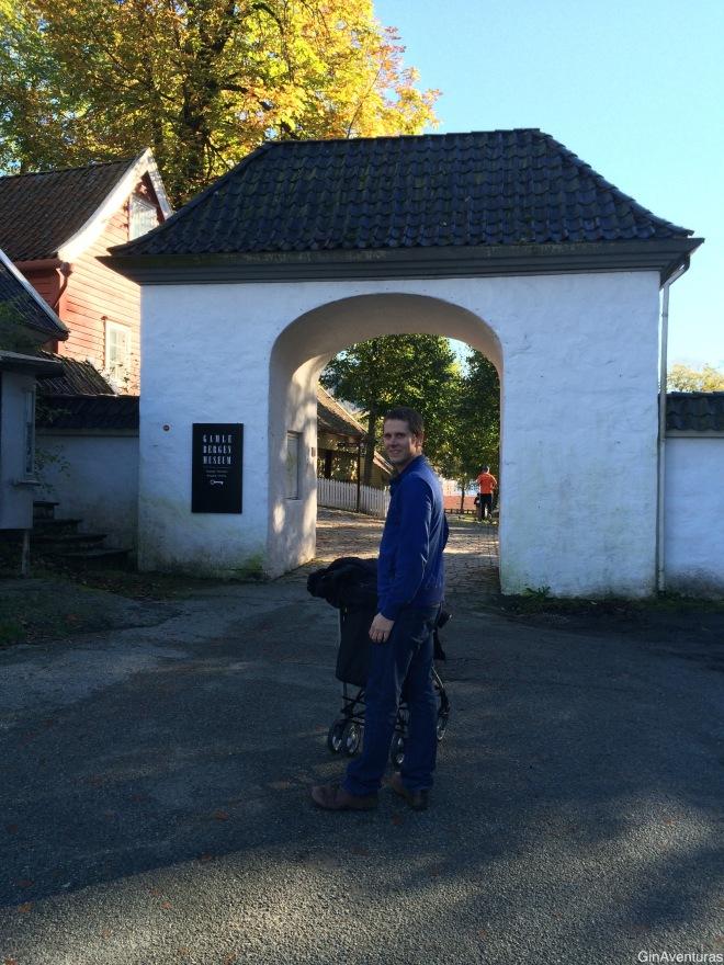 Entrada a Gamle Bergen