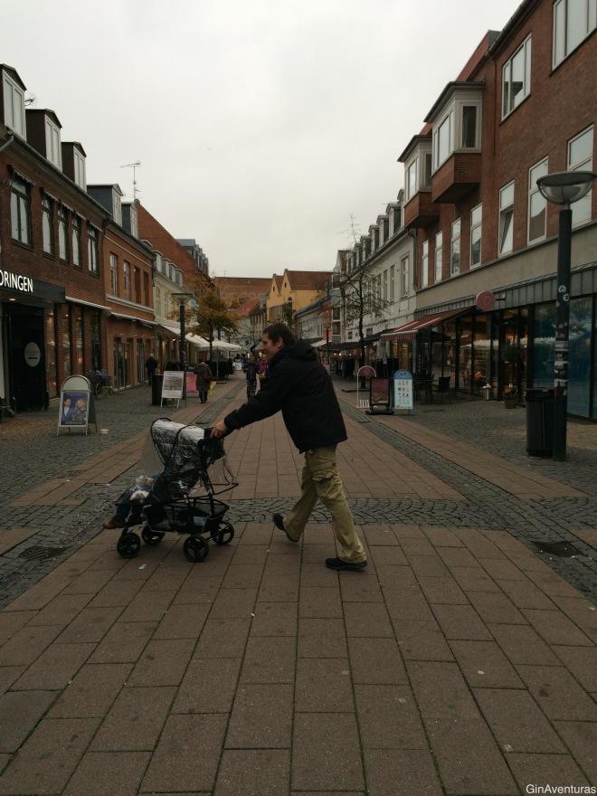 La calle pedestre Slotsgade