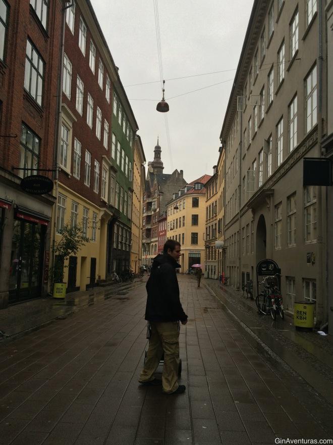 Calles solitarias en domingo