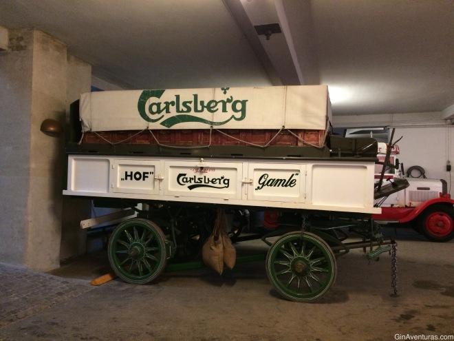Muestra de transporte de Carlsberg