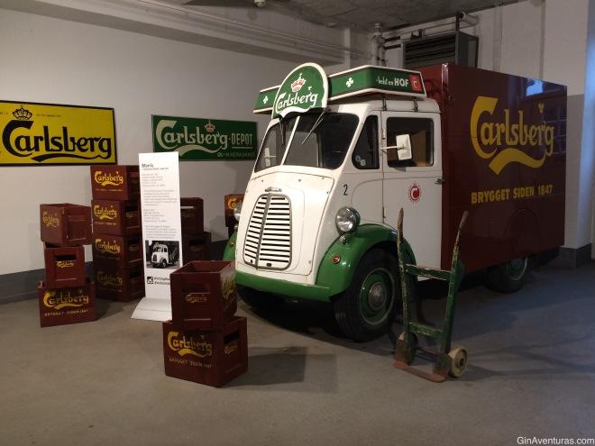 Transporte clásico en Carlsberg