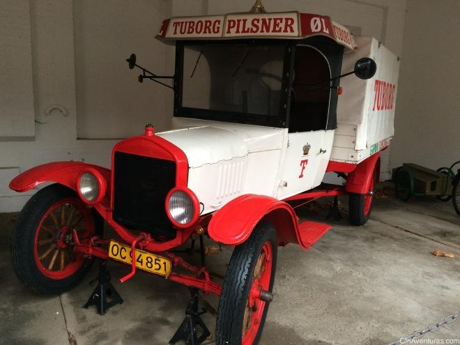 Antiguos carros en Carlsberg