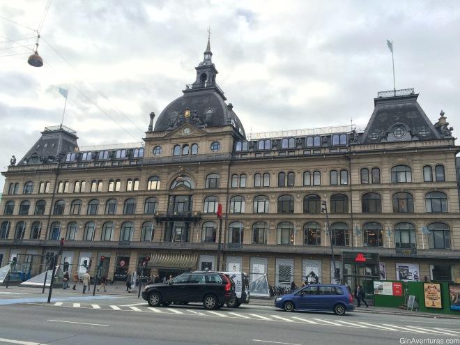 Una tienda departamental en Kongens Nytorv