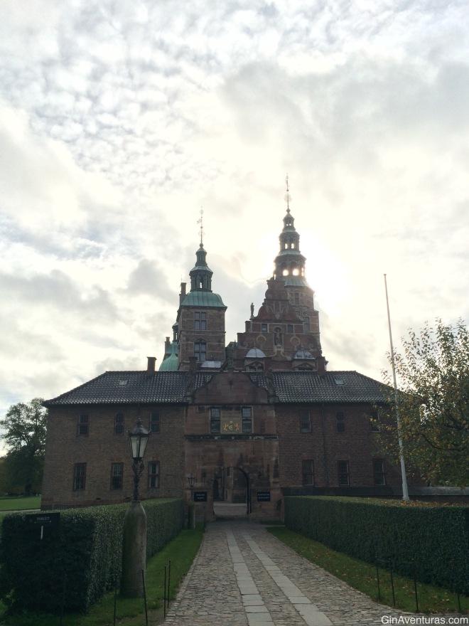 Entrada al Castillo de Rosenborg