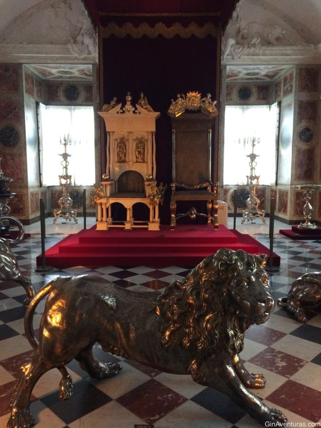 El Trono Real de Dinamarca, símbolo de la monarquía absoluta en Dinamarca