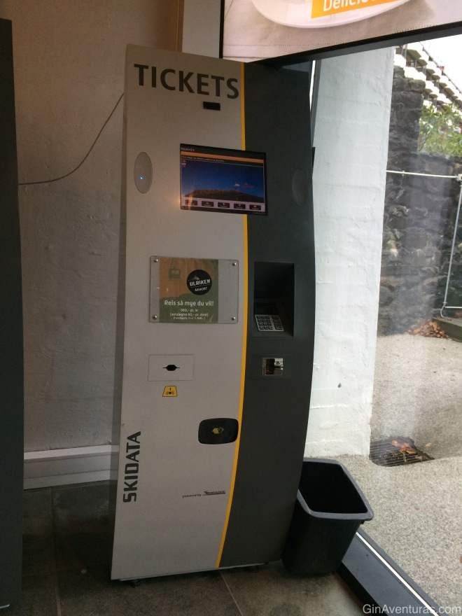 Maquinas automáticas de boletos