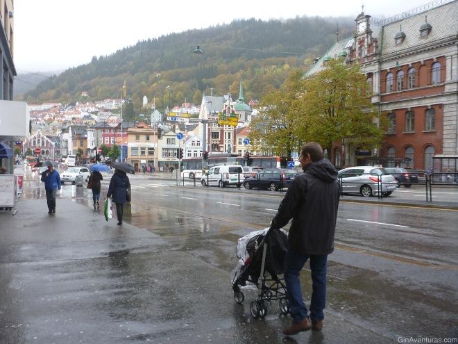 Recorriendo Bergen el primer día