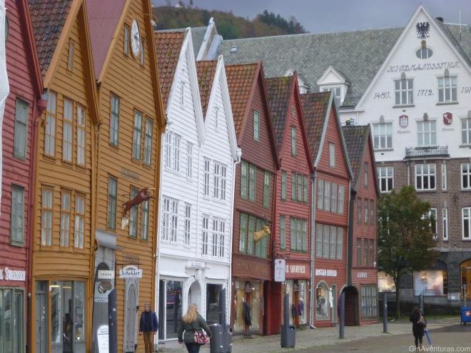 Bryggen, la imagen clásica de Bergen