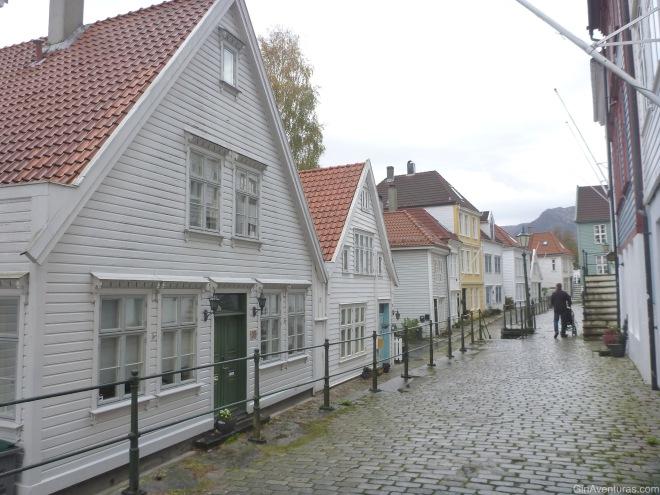 Las tranquilas calles de Bergen