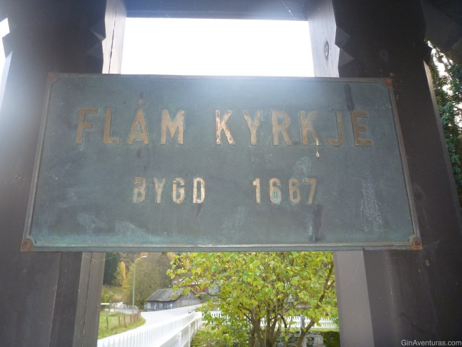 La iglesia de Flam data de los 1600