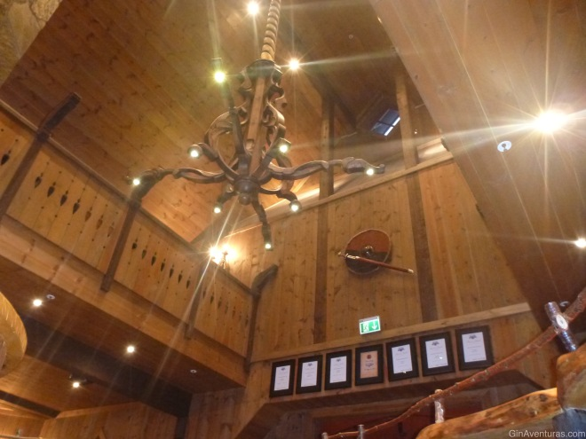Interior de Ægir Brewery