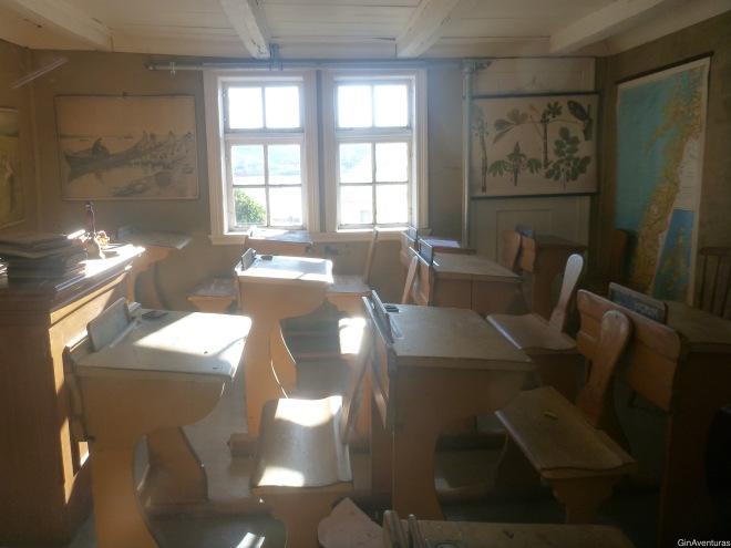 Interiores de la escuela