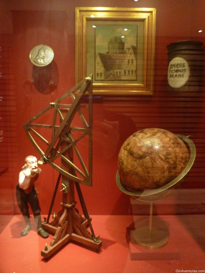Parte de la muestra en la torre
