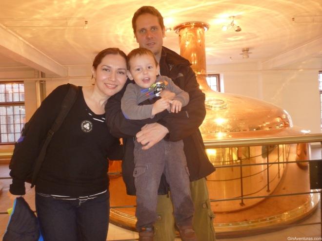 Foto del recuerdo de la Yucafamily en Carlsberg