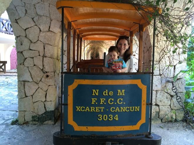 El trenecito directo a Cancun... I wish!