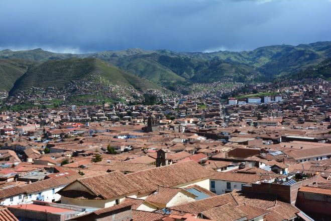 Mirador en Cusco