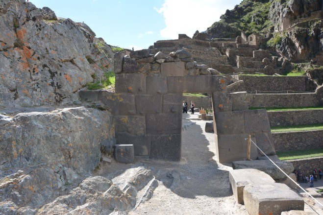 Puerta de Ollantaytambo
