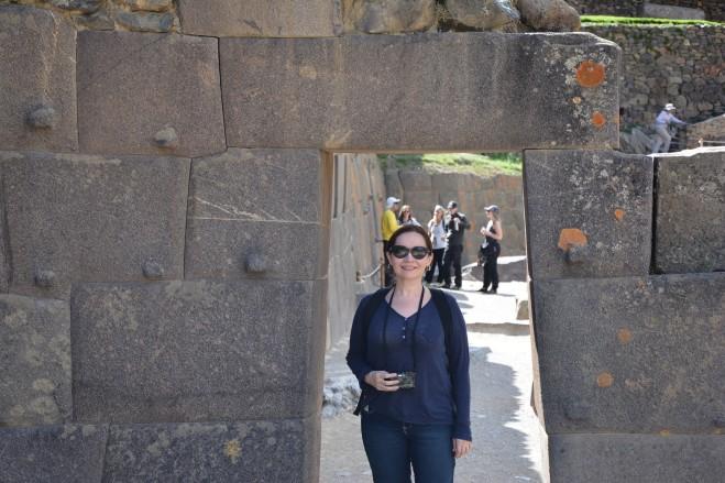 Puerta en el Templo del Sol