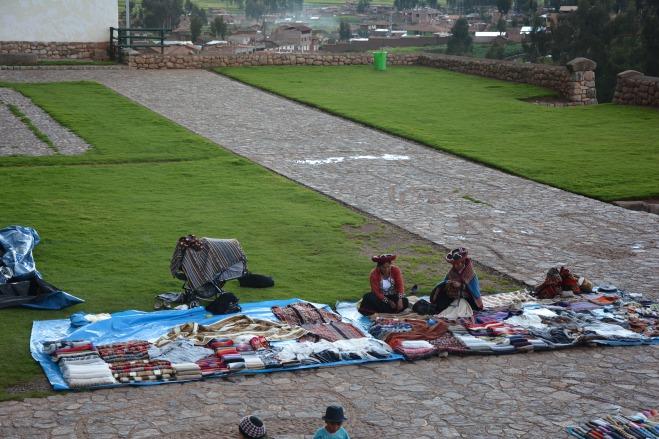 Artesanas en Chinchero