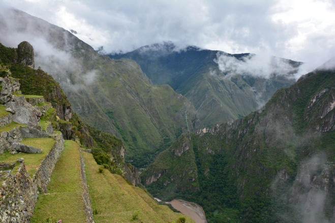 Los bellos paisajes en Machu Picchu