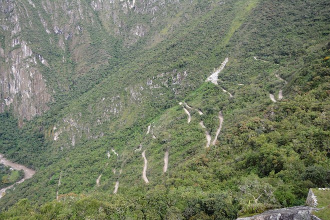 La carretera desde lo alto