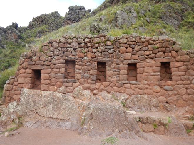 Parte de las estructuras en Pisaq