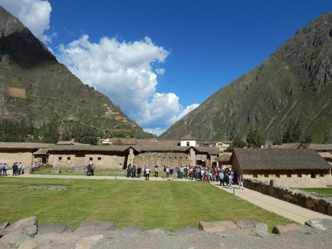 Sitio arqueológico de Ollantaytambo