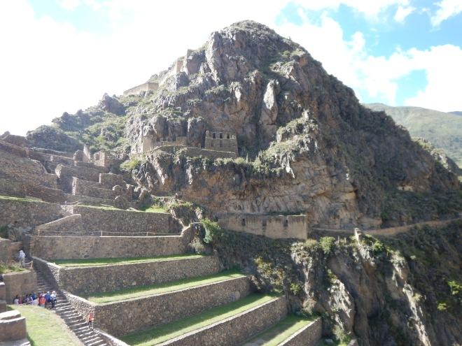 Ollantaytambo desde el Templo del Sol