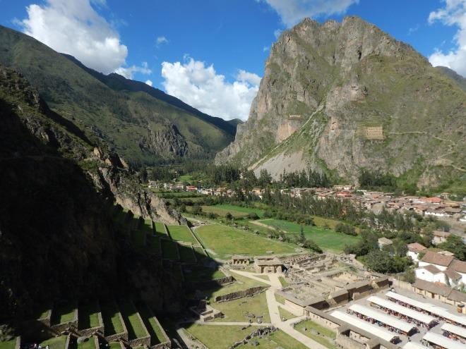 Ollantaytambo, ciudad cuidada por las montañas