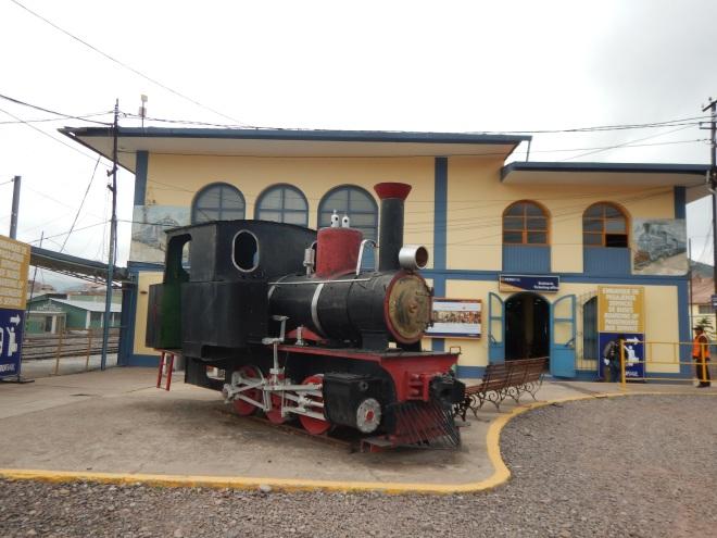 Estación de Wanchaq en el centro de Cusco