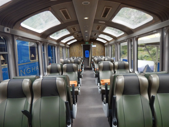 Tren panorámico Vistadome