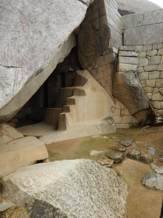 Tumba real en Machu Picchu