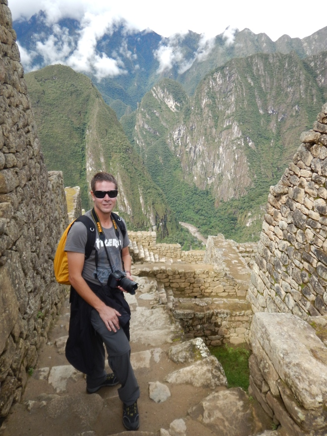Precipicios impresionantes en Machu Picchu