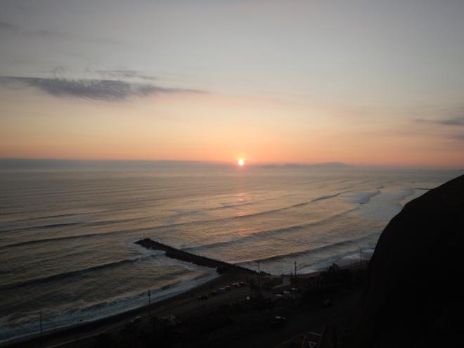 Atardecer en Lima