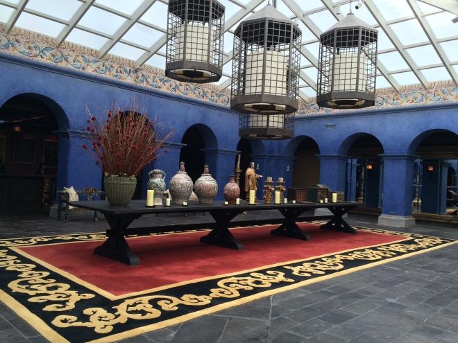 Lobby del hotel Palacio del Inka