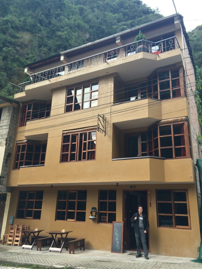El sencillo y amigable hotel Panorama en Machu Picchu pueblo