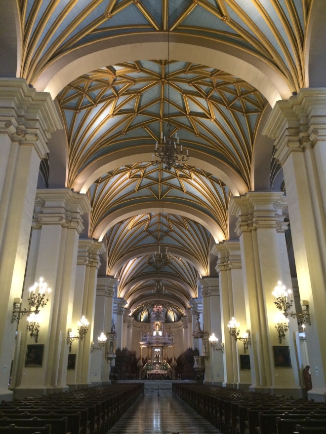 Techo de la Catedral de Lima