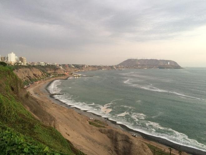 Caía la tarde en Lima