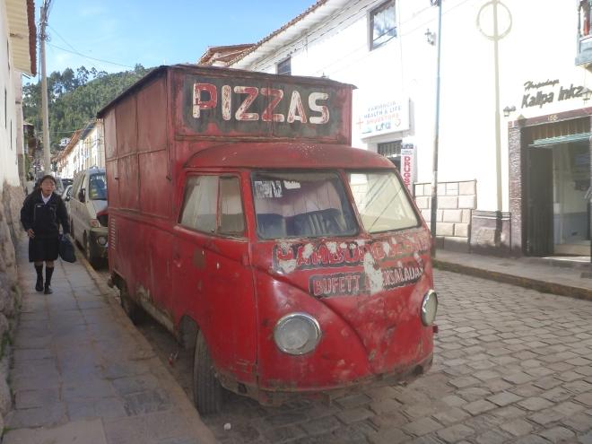 Imágenes cotidianas en Cusco