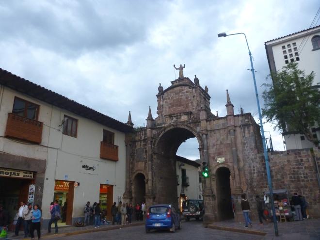 Arco de Santa Clara, cerca de la Iglesia de San Francisco
