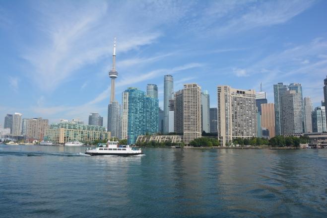 El skyline de Toronto