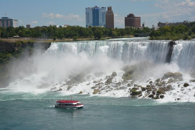 La belleza de Niagara Falls