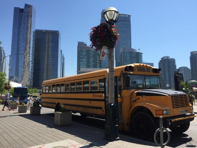 ¡School bus!