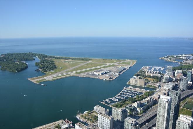 Islas de Toronto desde la Torre CN