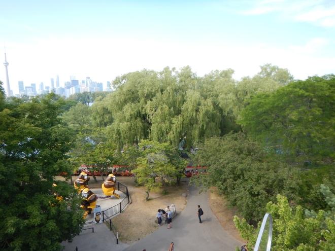 En la cima del Ferris Wheel